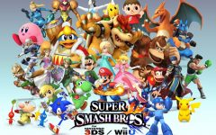 A picture including a plethora of Super Smash Bros characters.