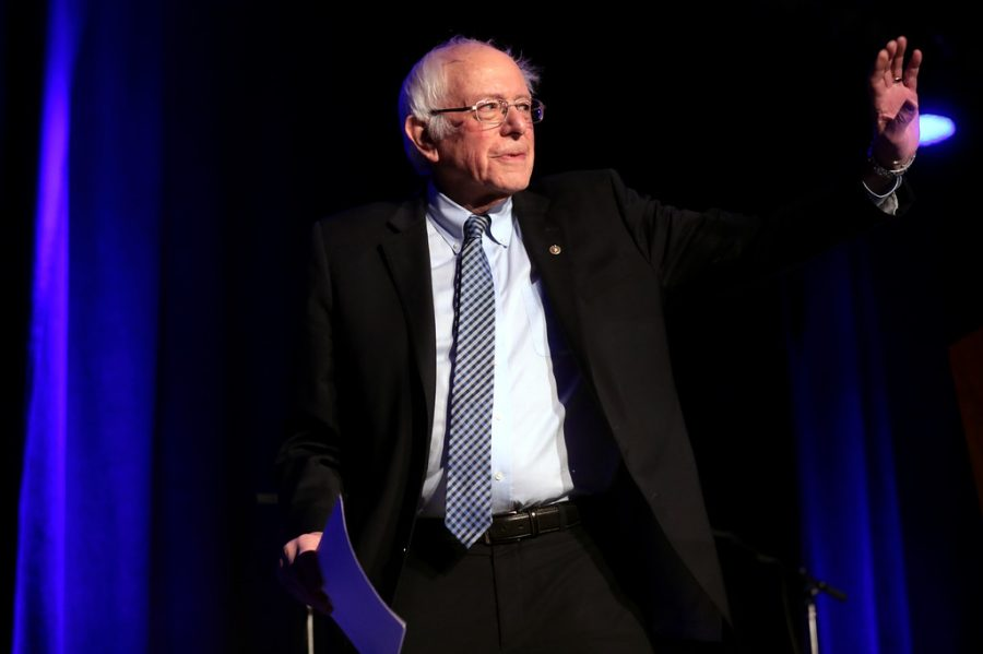 Vermont Senator Bernie Sanders declared victory in the 2020 Democratic Nevada Caucus.