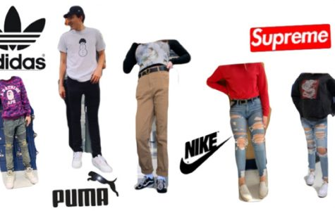 Popular brands and styles seen and worn by the students at RB.