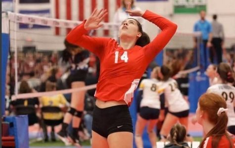 Girls Volleyball: Colette Barnes