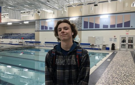 Boys Swim and Dive: Murphy Reagan