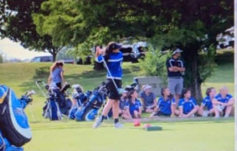 Girls Golf: Elizabeth Centrocelli