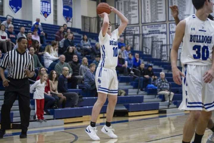 Paul Zilinskas has become a key part of RB's basketball team this season.
