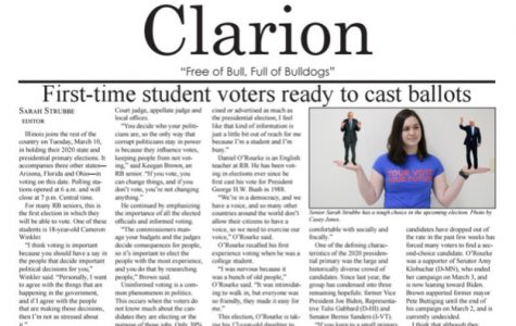 Clarion Issue #3 - Tuesday, March 17, 2020