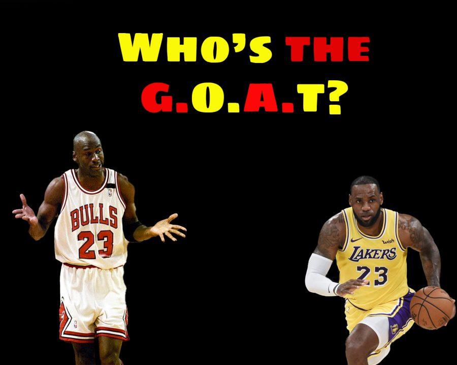 Who is the best basketball player of all time: Michael Jordan, or LeBron James?