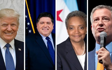The four political leaders whose actions are discussed in response to the pandemic within the article.