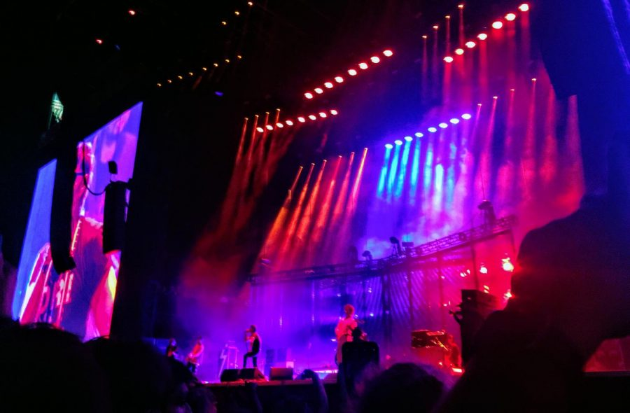 The+Strokes+playing+at+Lollapalooza+2019.+Photo+by+Azucena+Gama.