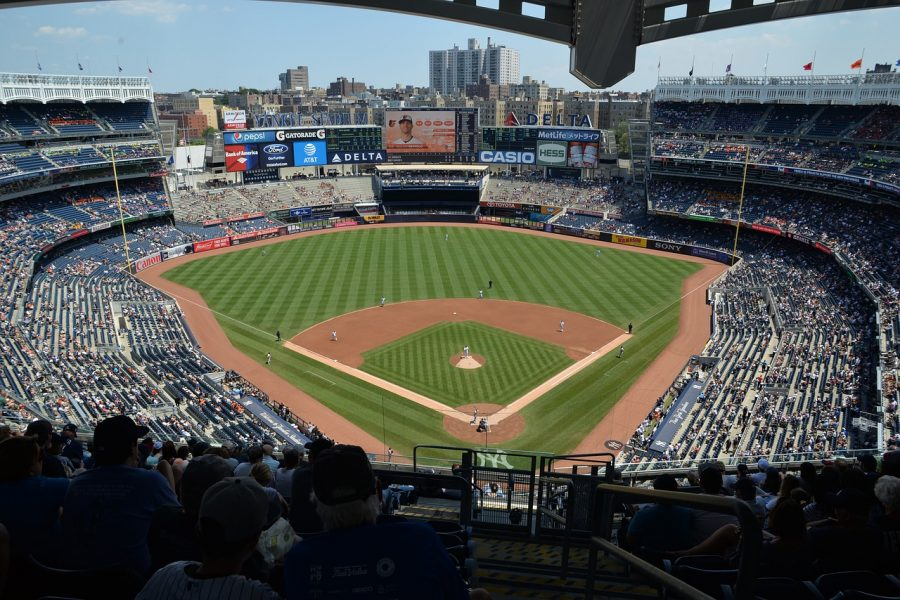 The New York Yankee Stadium. Photo from Pixabay.