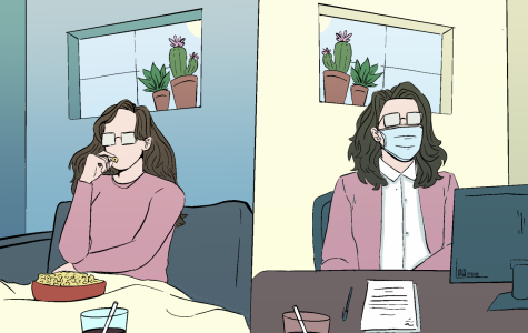 How quarantine culture has changed. Illustration by Ali Beatty.