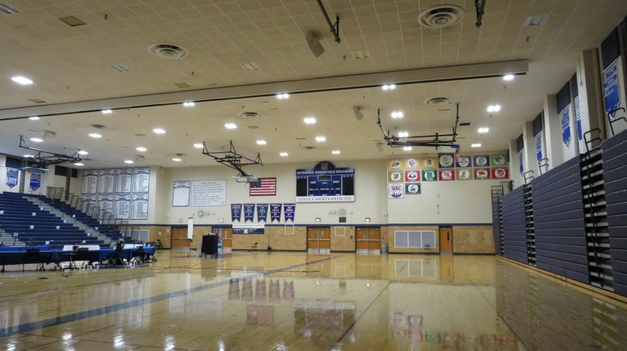 Gyms and other winter sports facilities will remain empty for the start of the season.