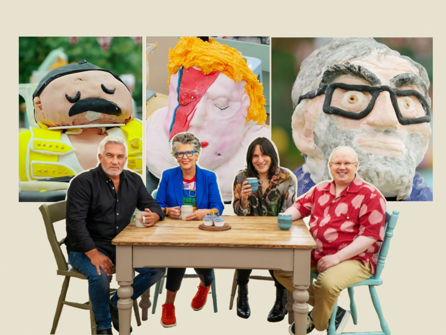 %22The+Great+British+Bake+Off%22+judges+and+hosts.+Media+by+Mali+Downing.