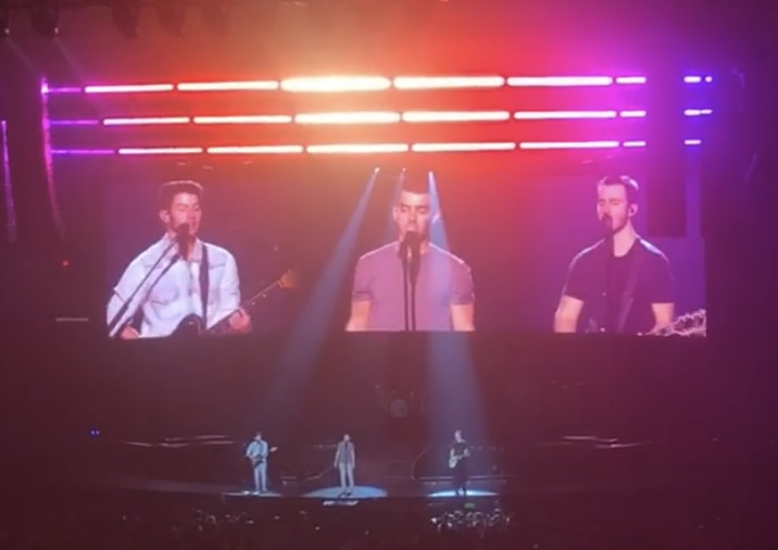 December 3rd, 2019, Jonas Brothers at Allstate Arena