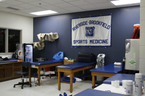 The RB trainers room.